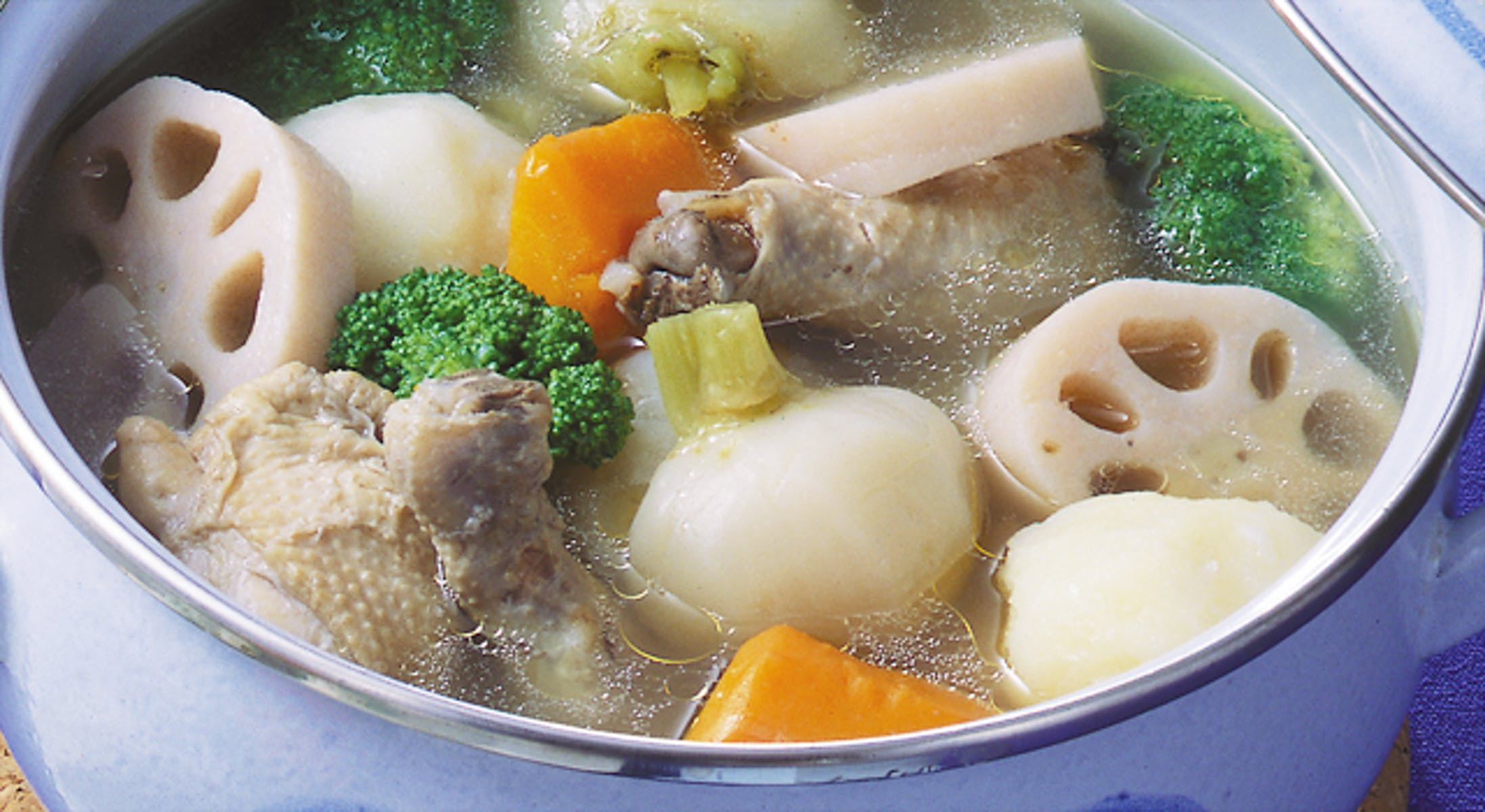 鶏肉と冬野菜のポトフ