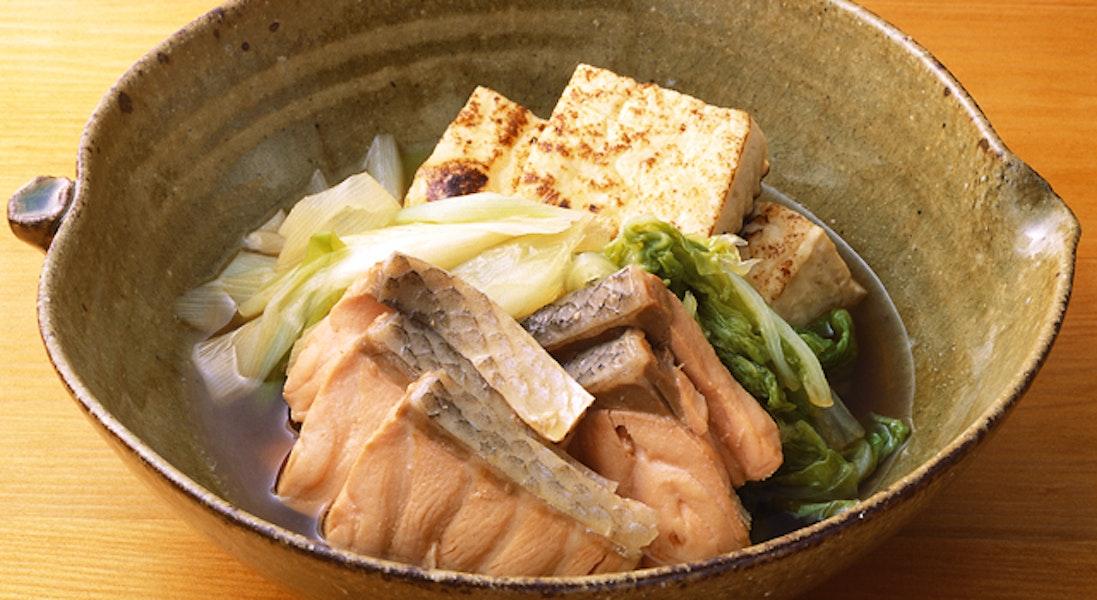 鮭と白菜の煮物