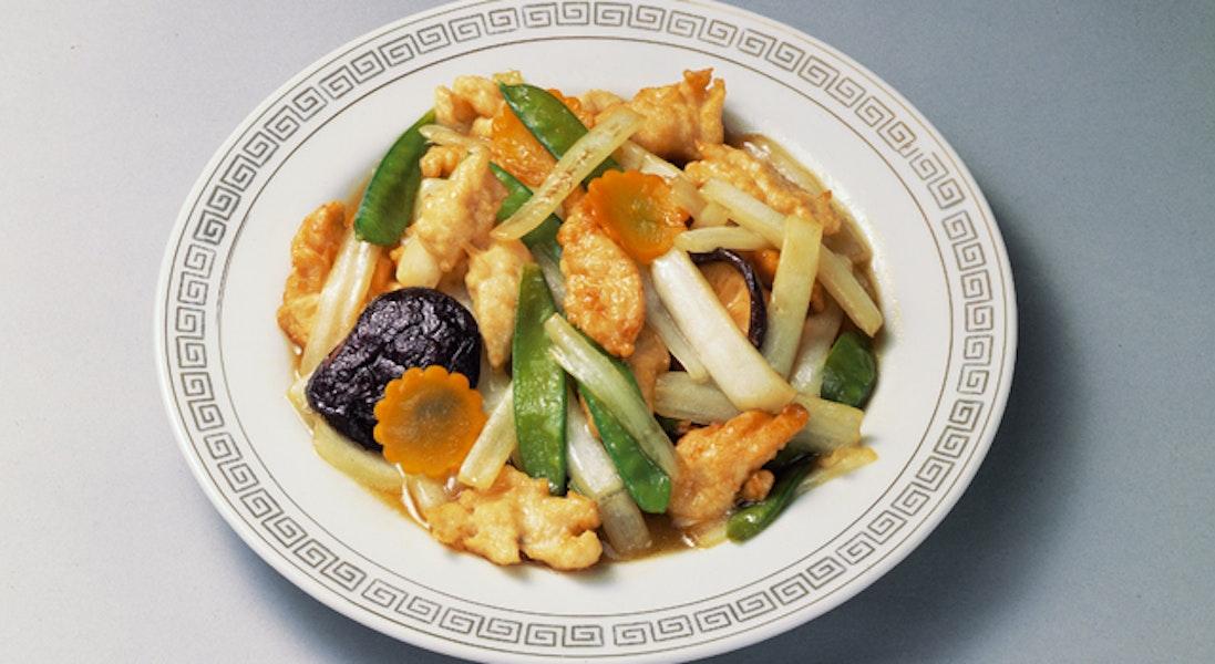 白菜の中華風炒め物