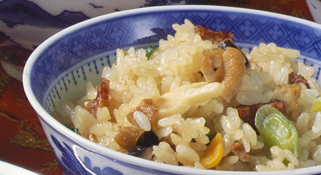 有味飯(中華風炊き込みご飯)