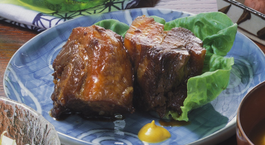 豚の角煮(圧力鍋)