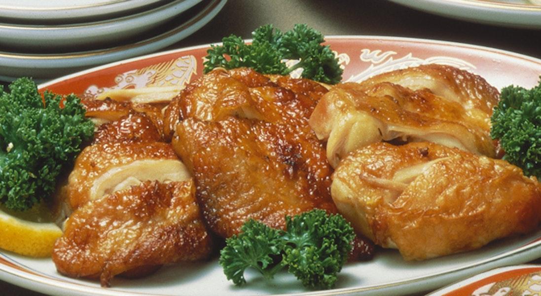 鶏もも肉の香味焼