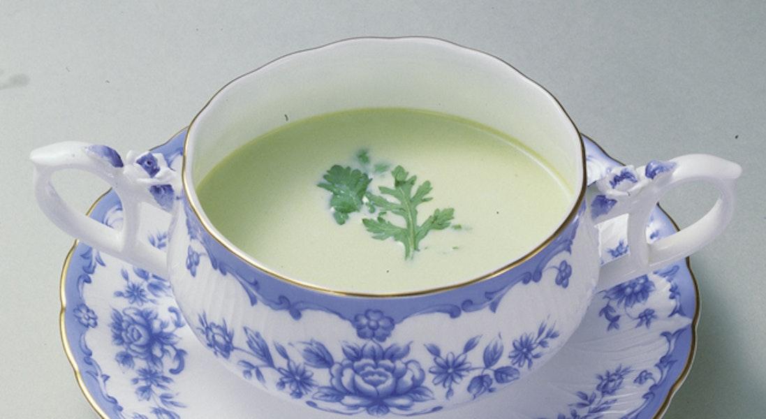 春菊のクリームスープ