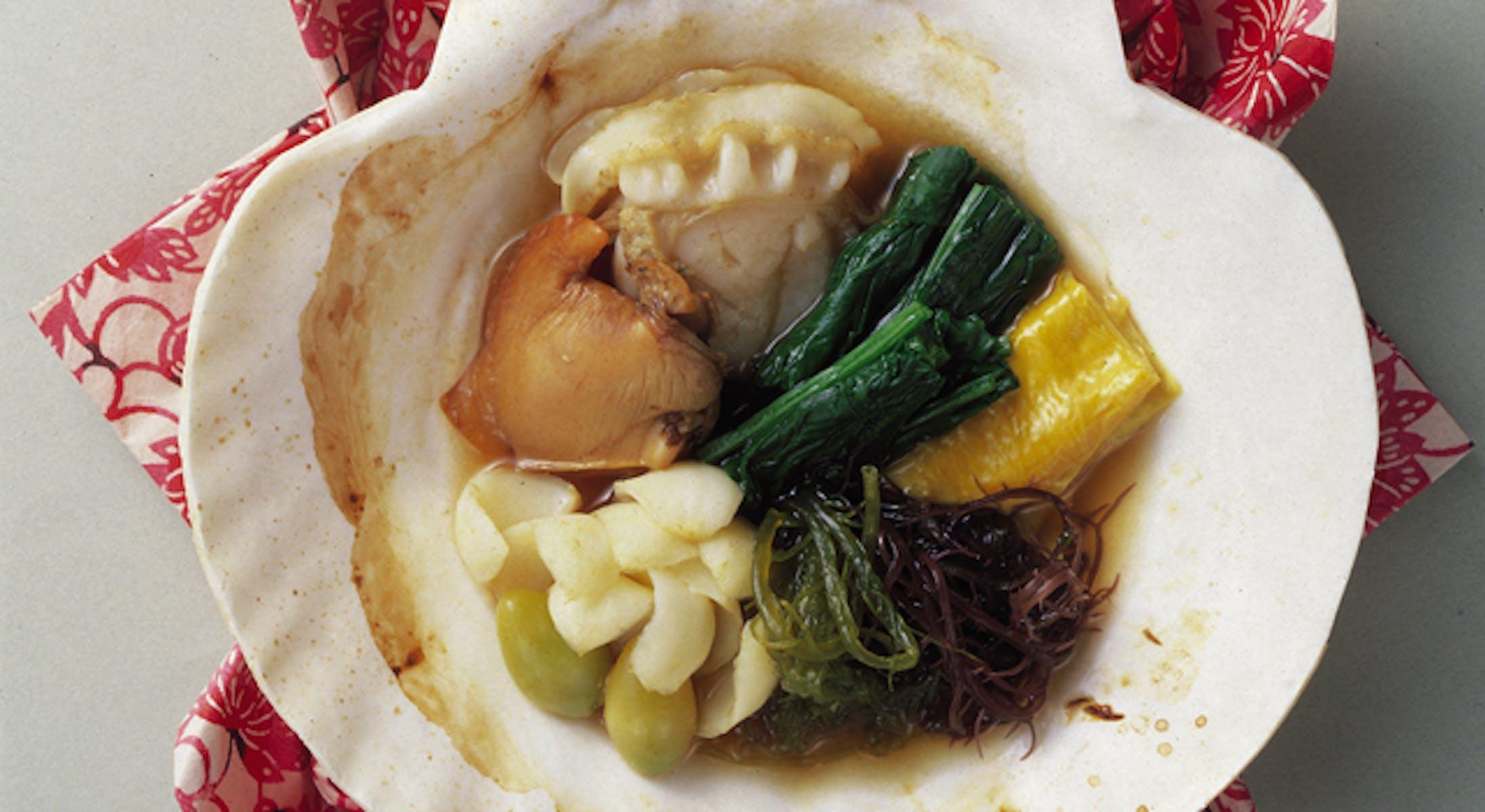 貝の1人鍋