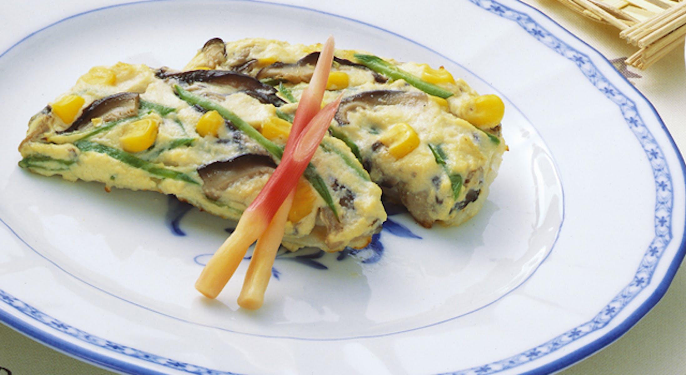 白身魚のけんちん焼き