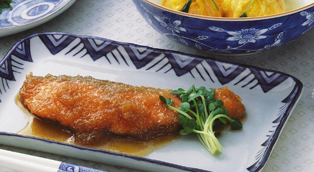 鮭のおろし煮