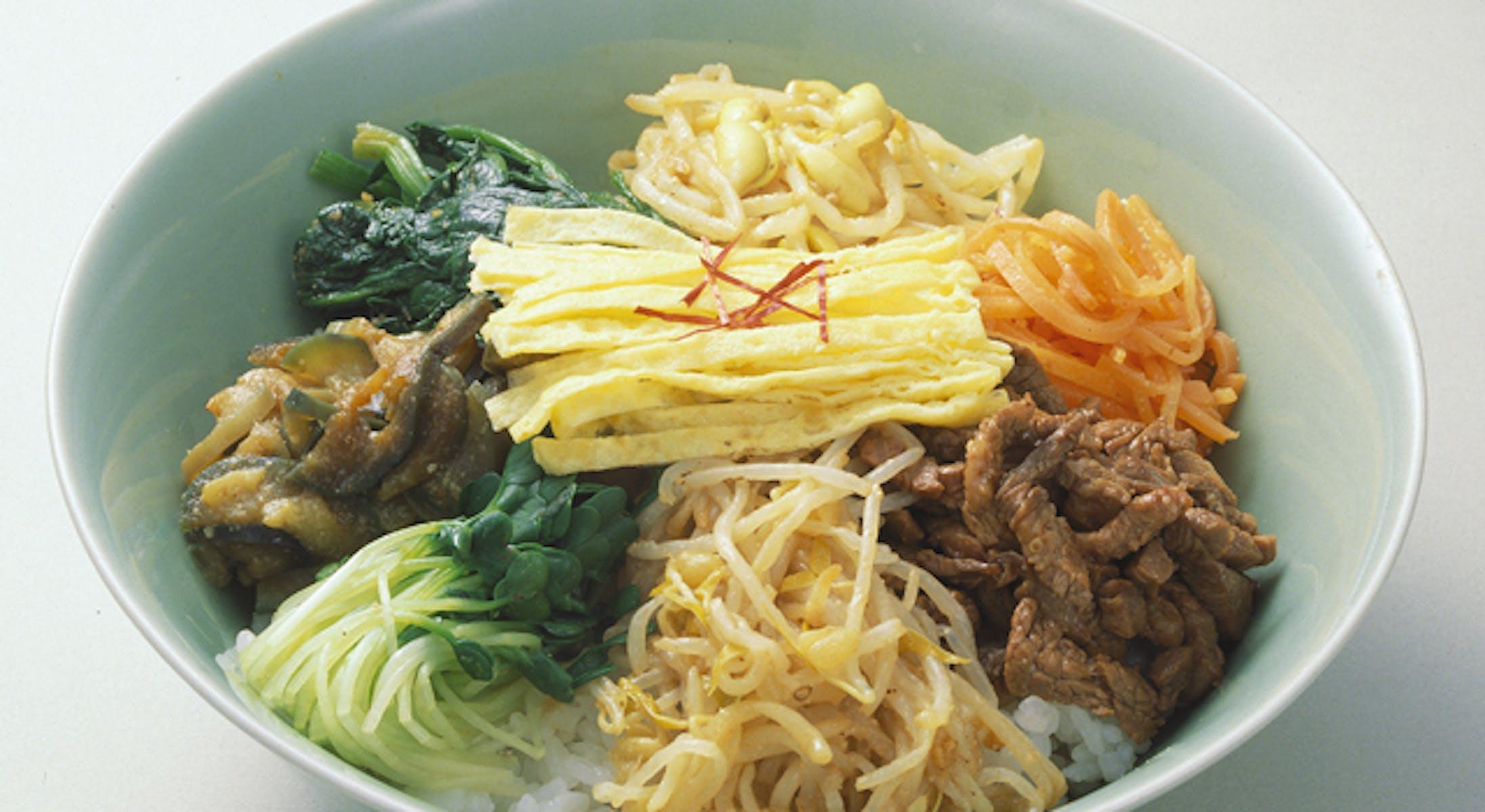 ビビンバ(韓国風五目丼)