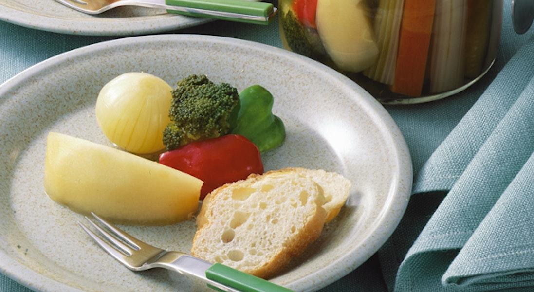 りんごと野菜のマリネ
