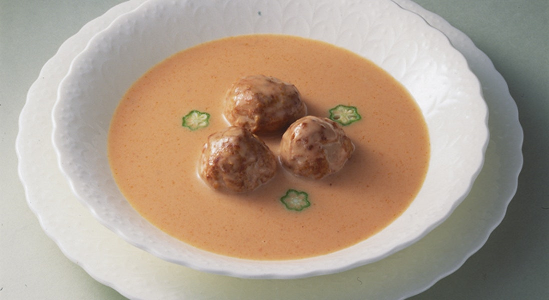 ミートボールのトマトスープ