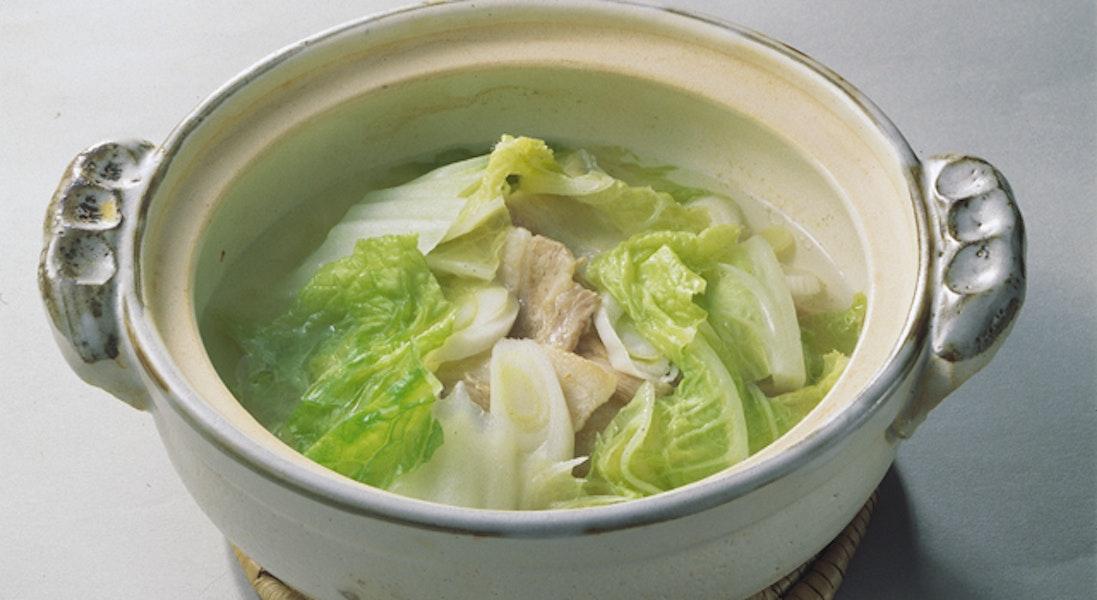 豚肉と白菜の酔鍋