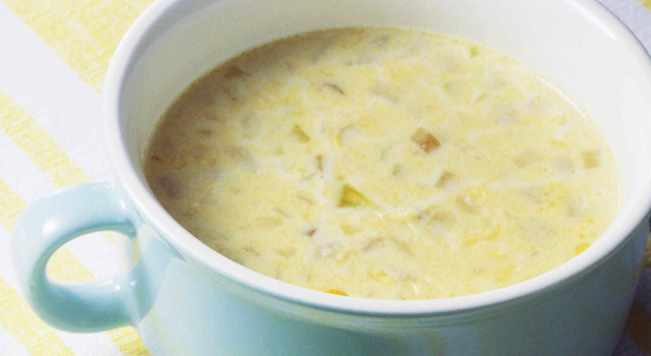 ごぼうコーンスープ