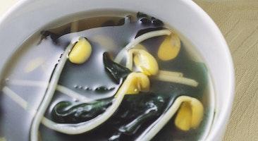 豆もやしのスープ