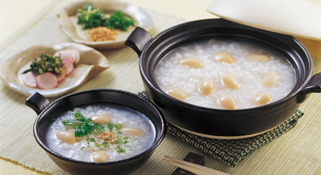 白花豆のお粥