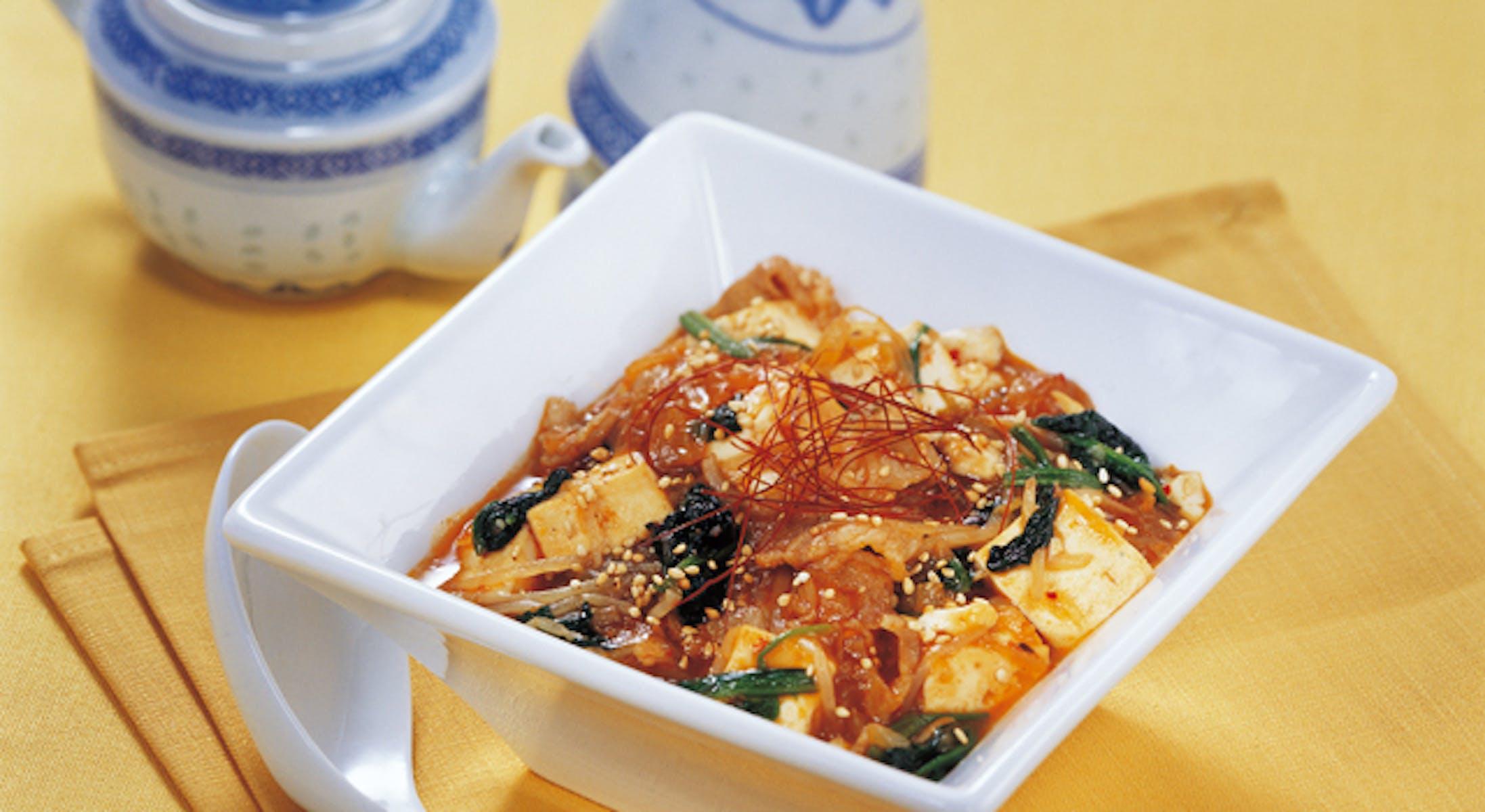 野菜いっぱい麻婆豆腐