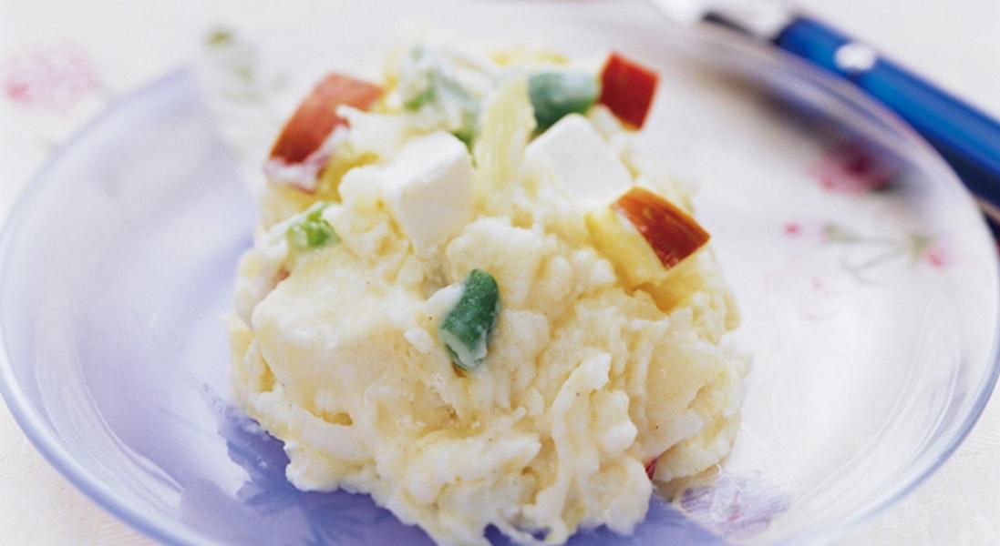 ポテトとクリームチーズのサラダ