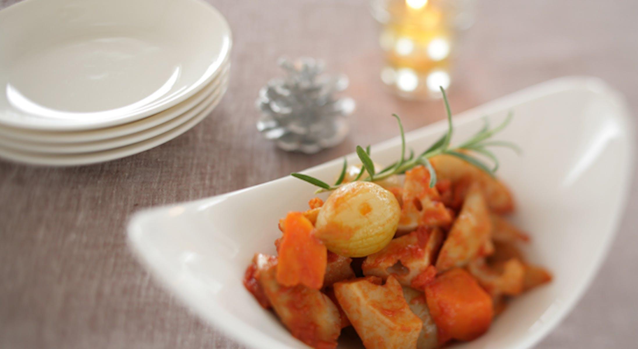 根菜のラタトゥイユ風