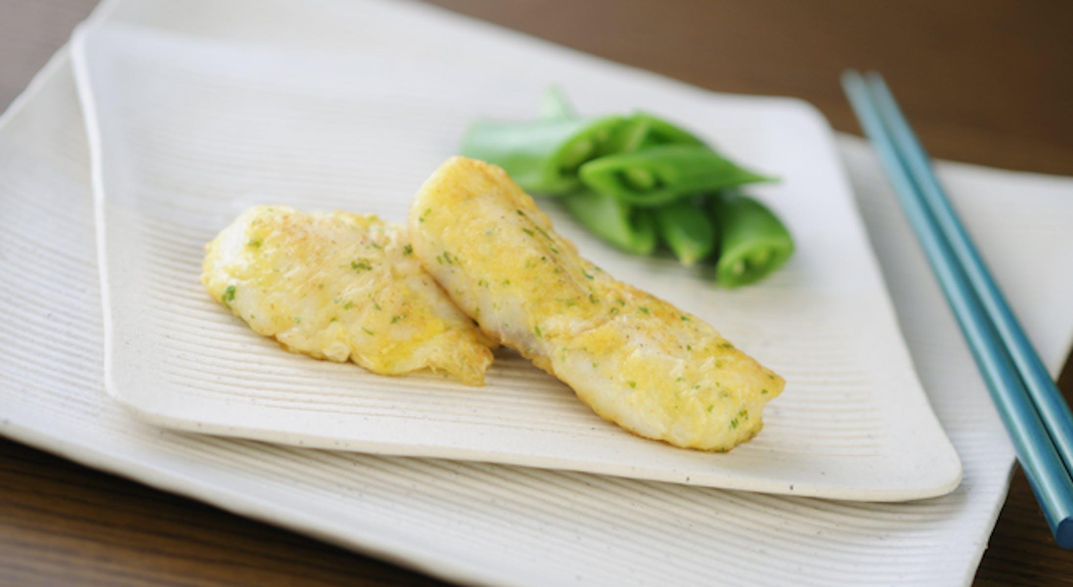 白身魚のチーズピカタ