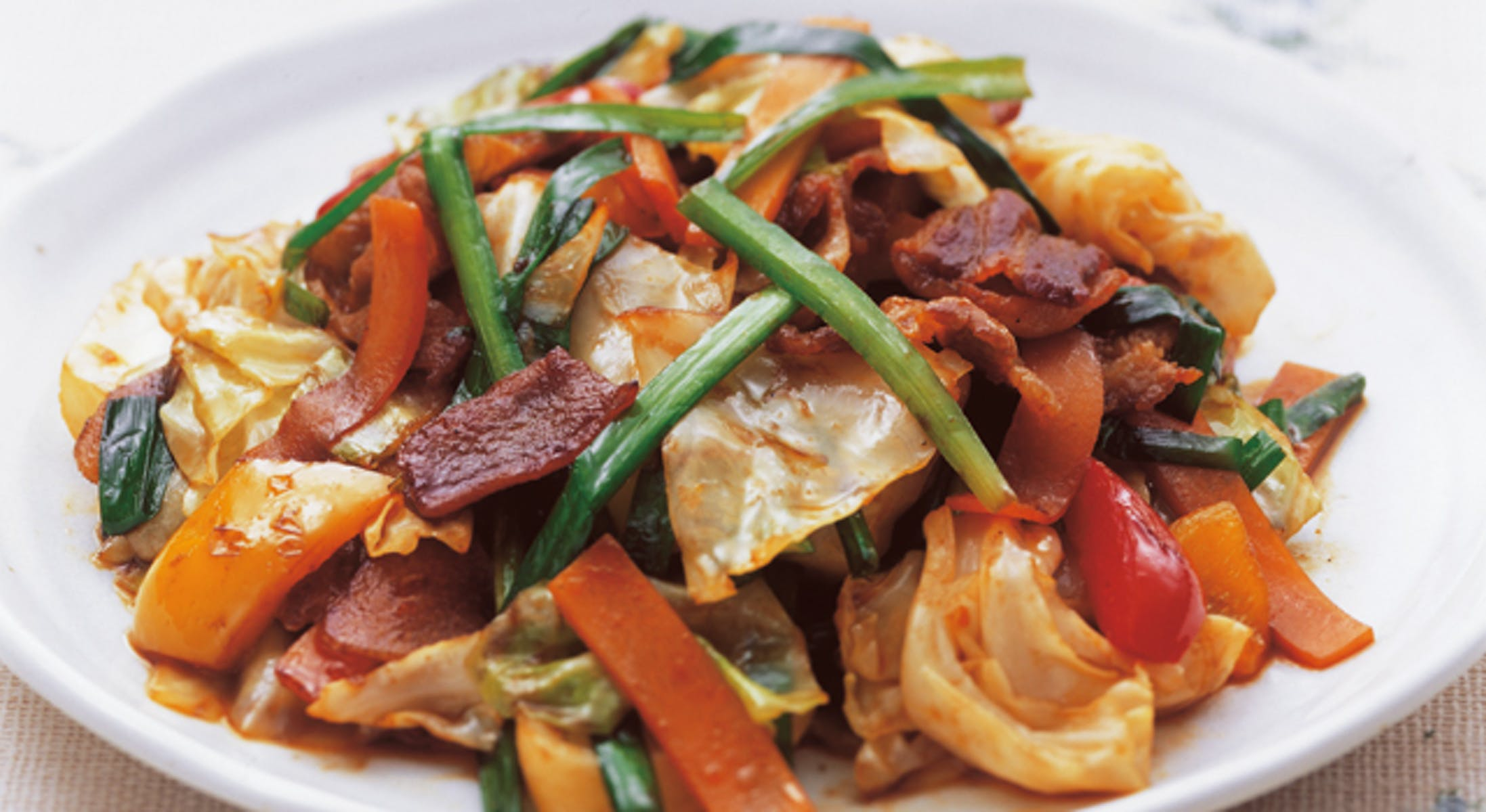 夏野菜で回鍋肉