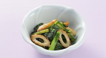ちくわと小松菜のさっぱり煮
