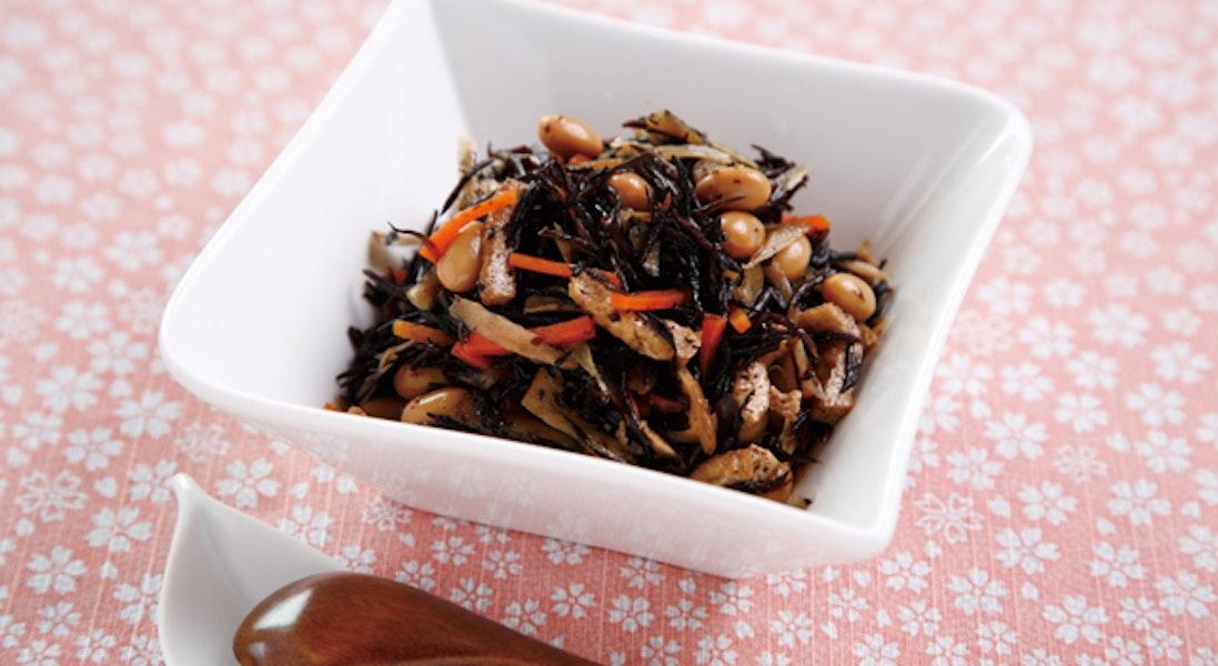 五目ひじきのレンジ煮