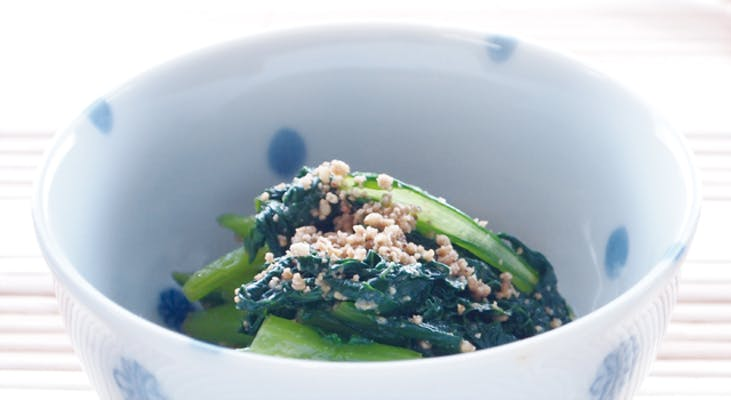 小松菜の簡単ナムル