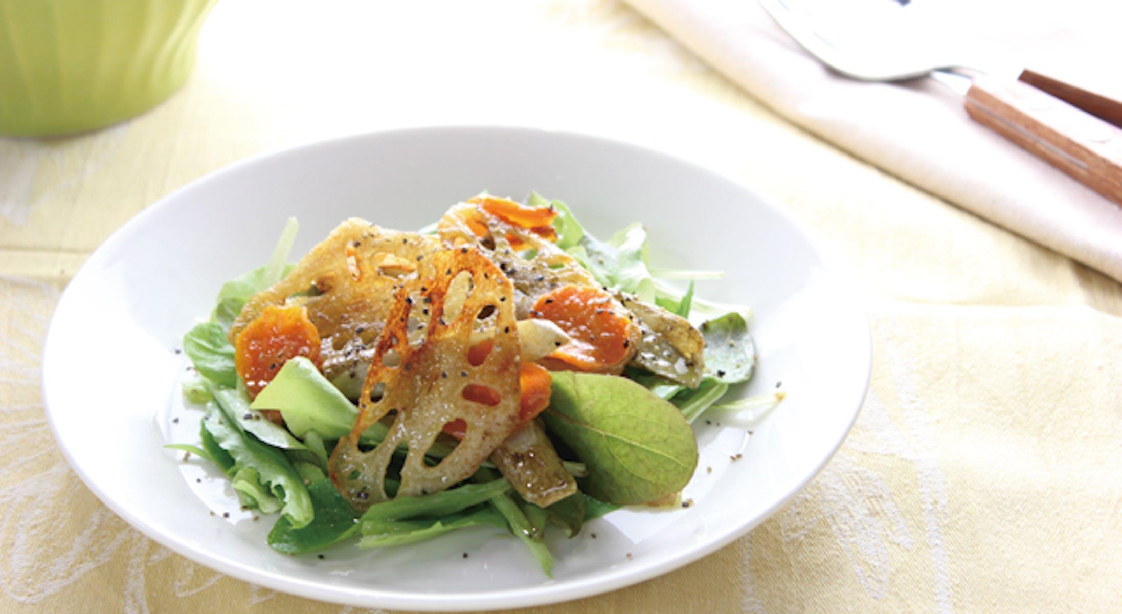 焼き根菜のサラダ