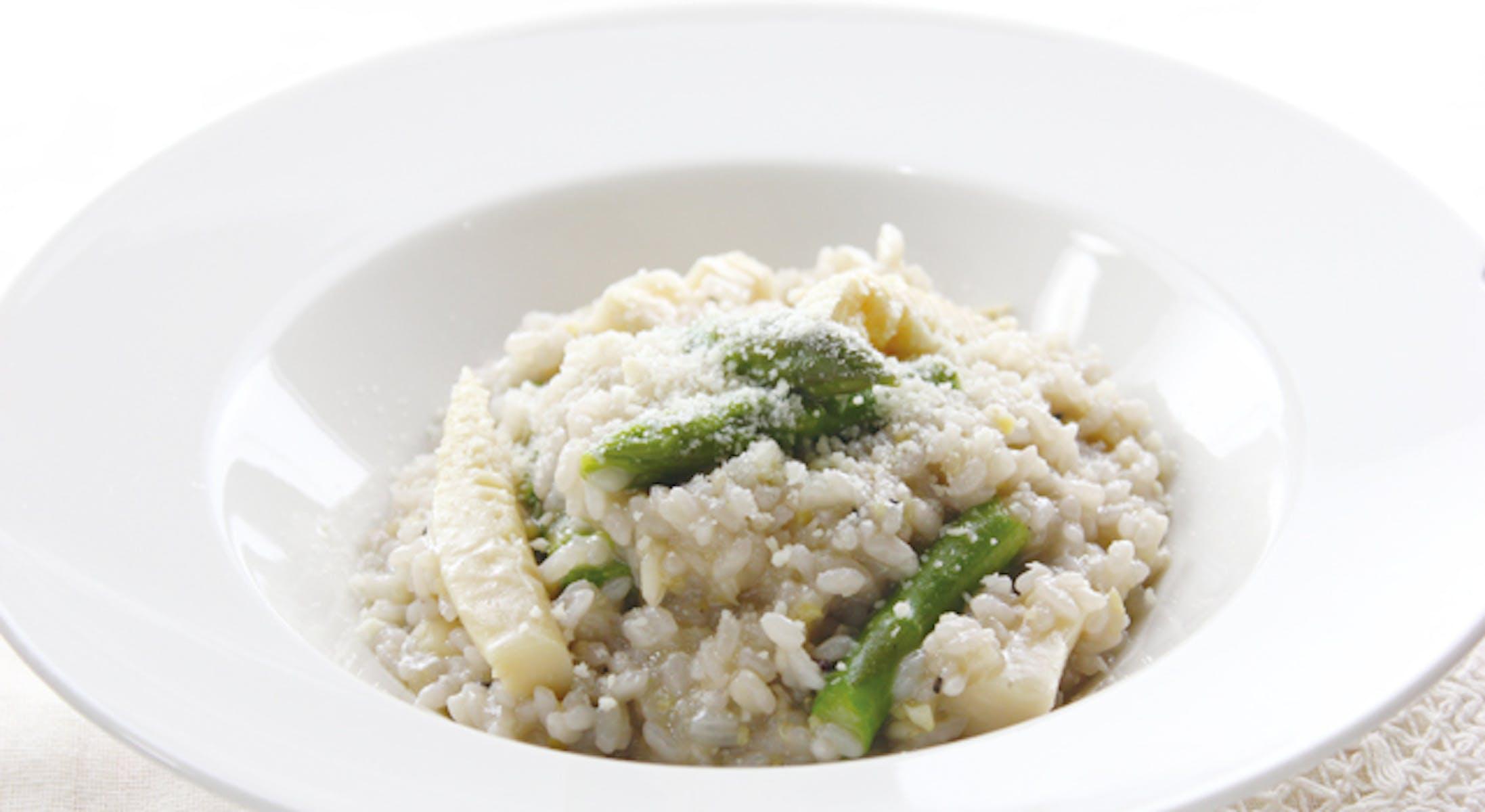 春野菜の雑穀米リゾット