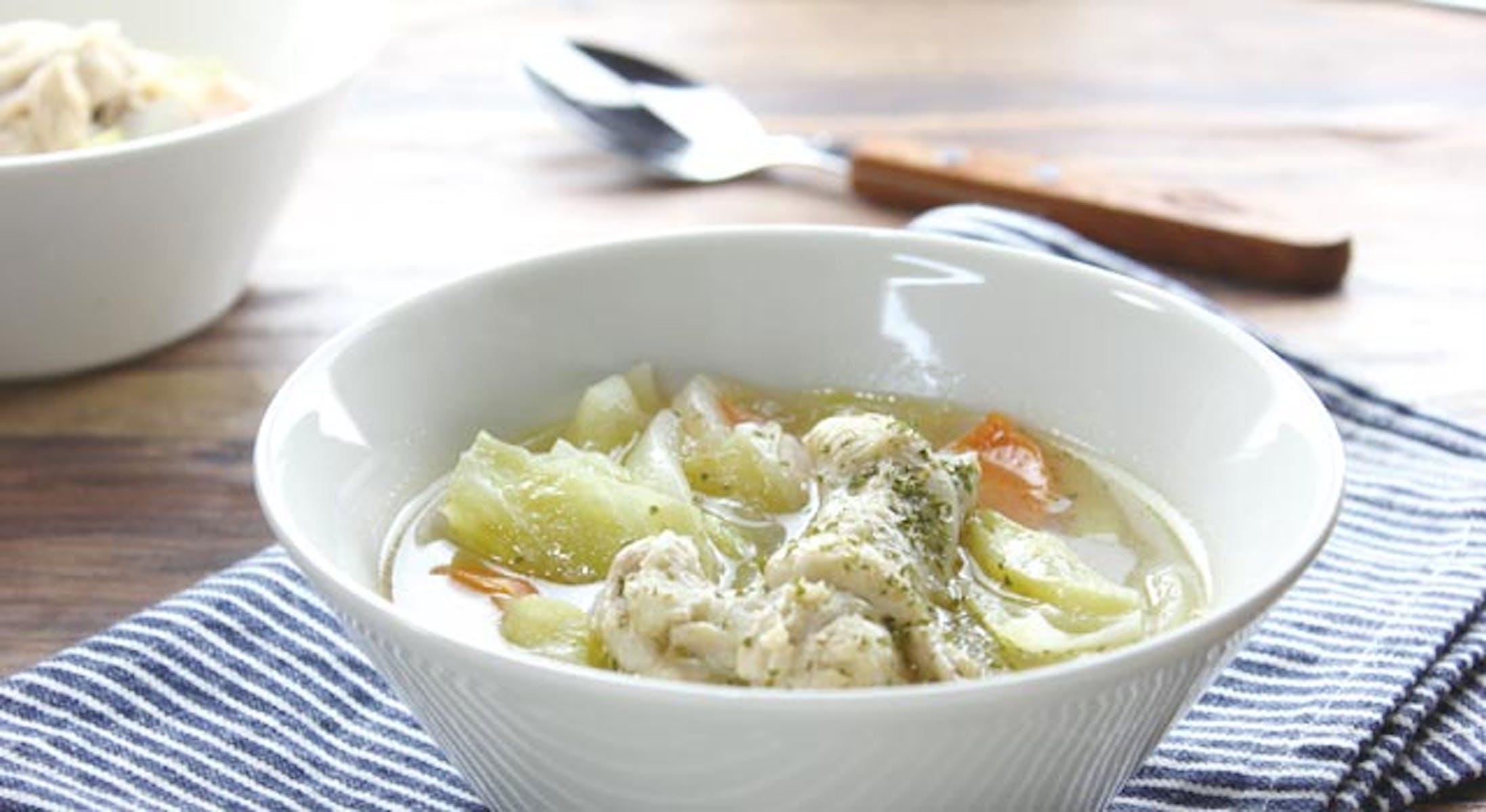 手羽元のスープ