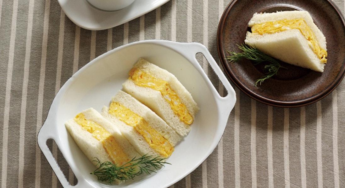 関西風厚焼き卵サンド