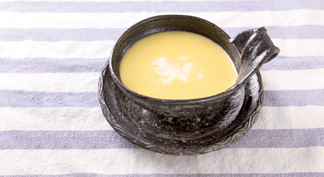 鹿ヶ谷かぼちゃのチーズポタージュスープ