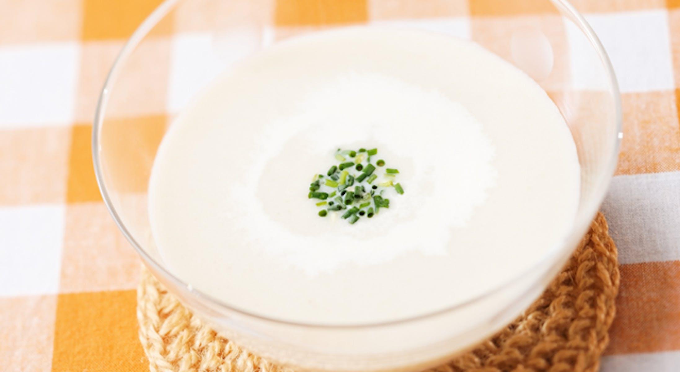 ヴィシソワーズ(じゃがいもの冷製スープ)
