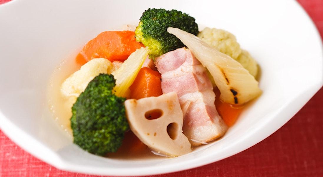 焼き野菜のポトフ