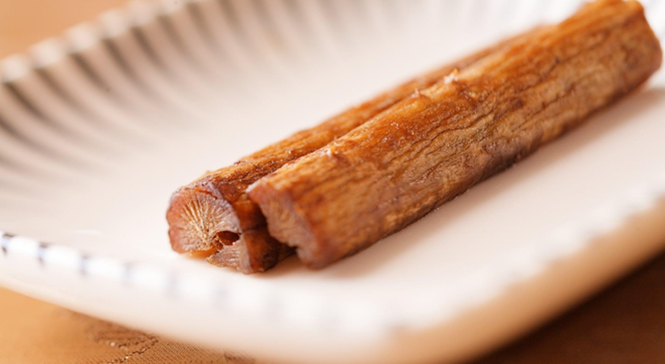 たたきごぼうのバルサミコ風味