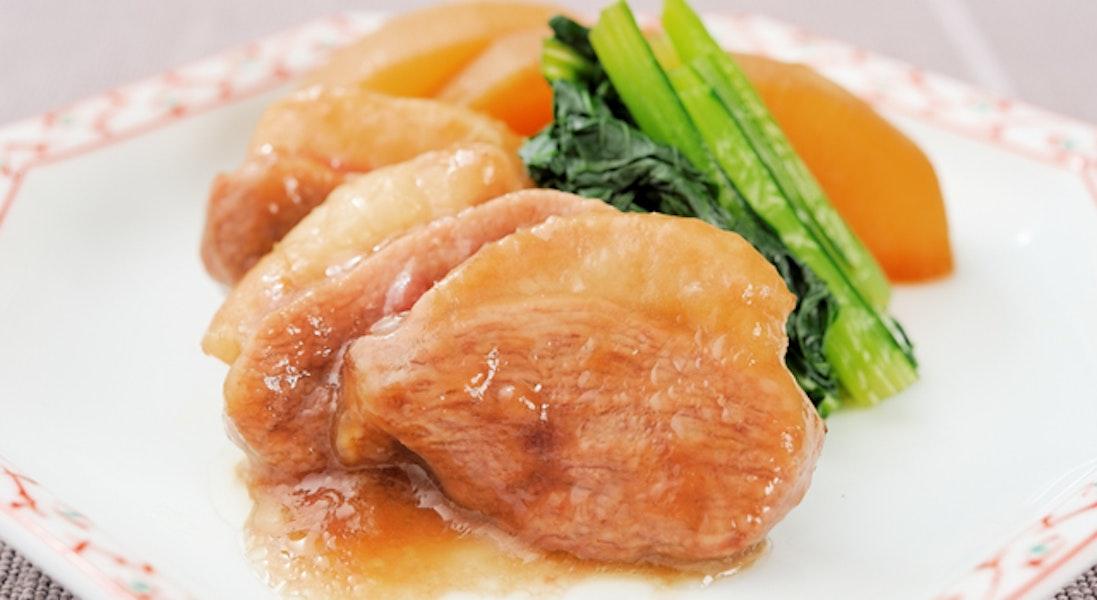 鴨肉と大根の煮物