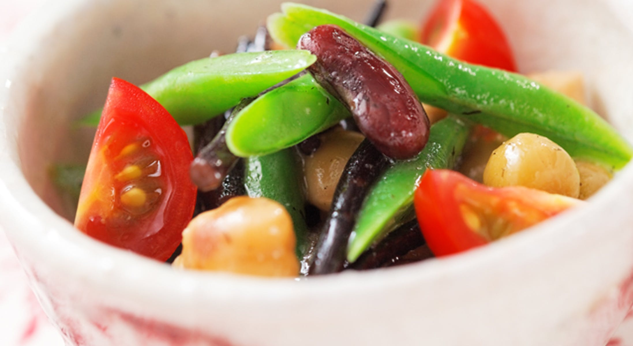 ひじきの豆サラダ