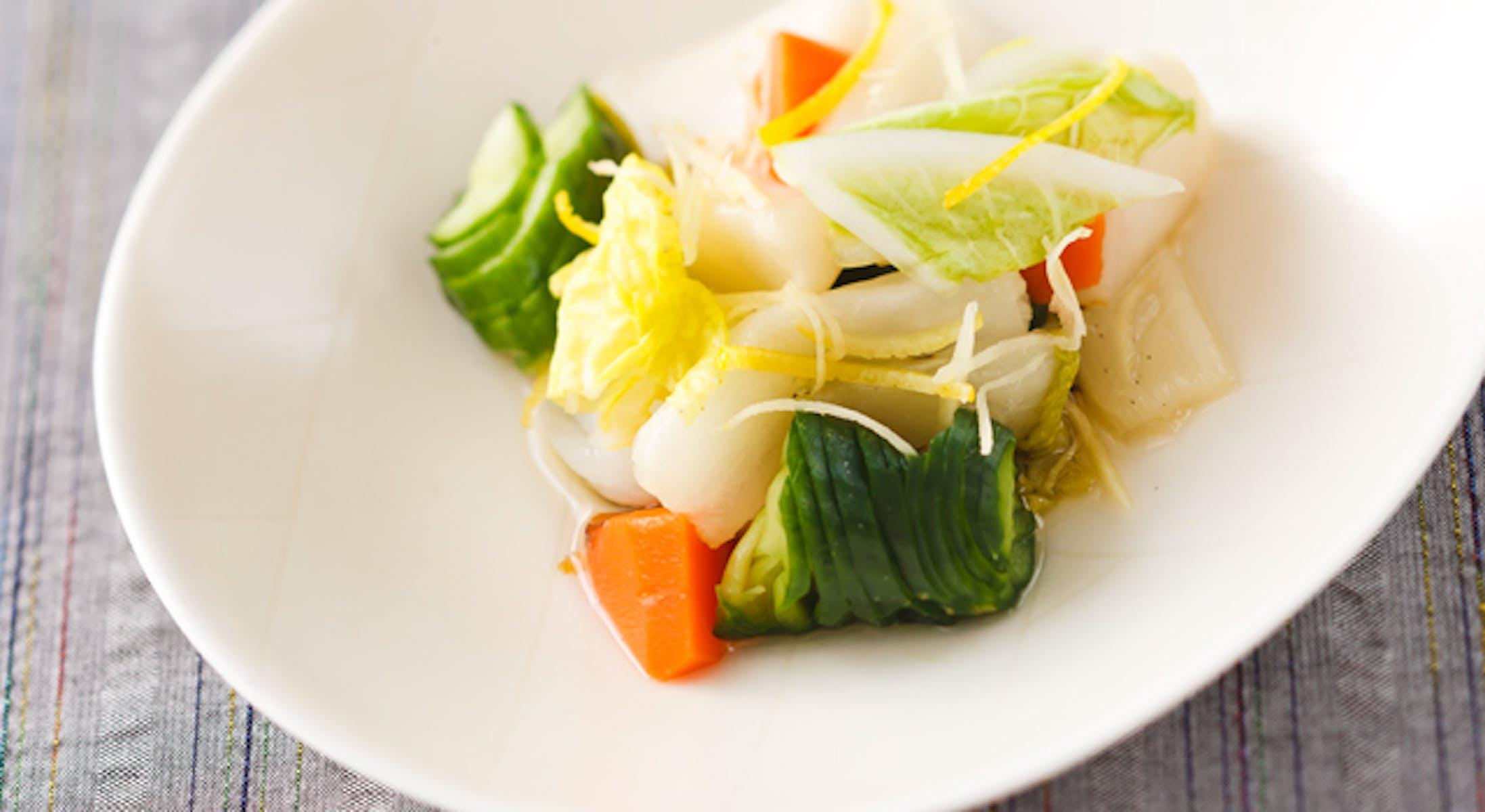 彩り野菜の甘酢漬け