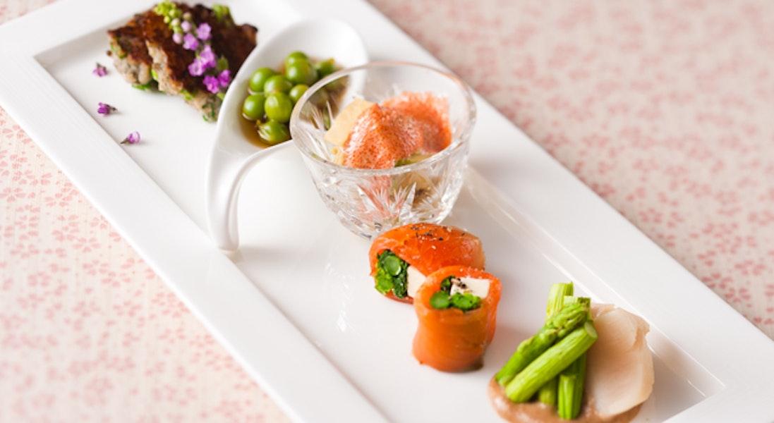 春野菜の前菜5種