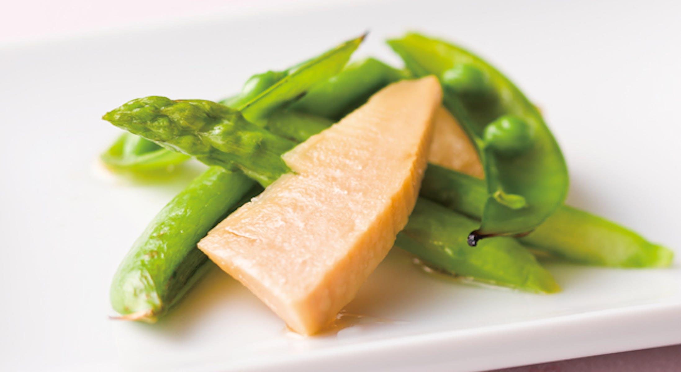 春野菜のオイスターソース風味