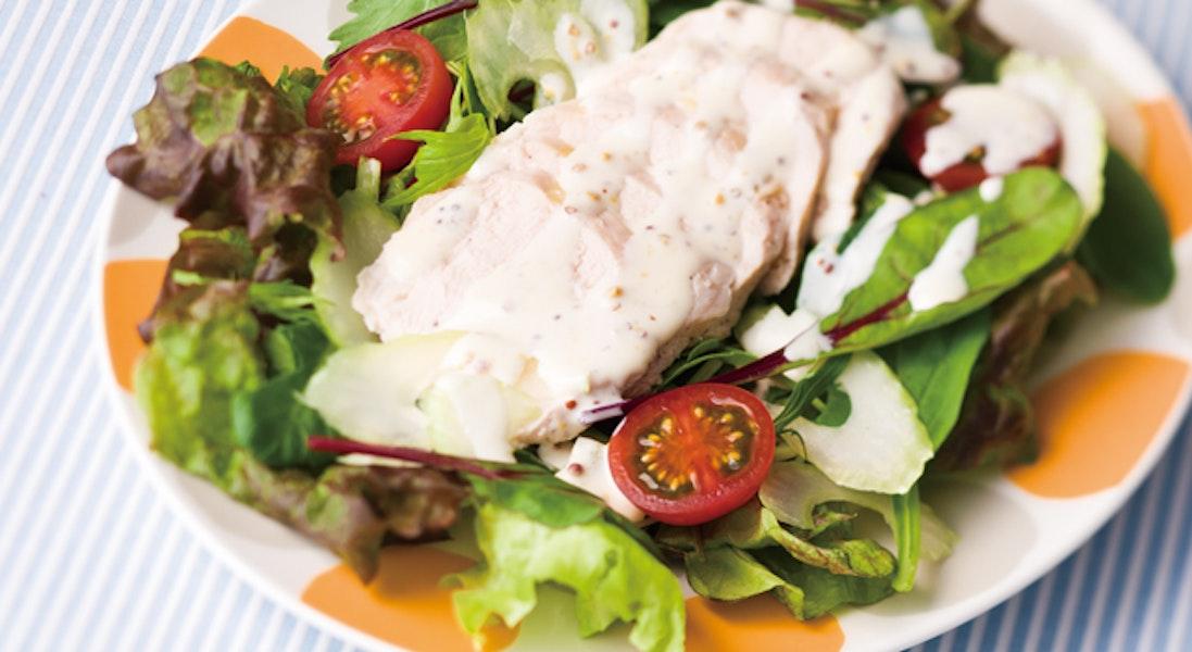 鶏肉のサラダ
