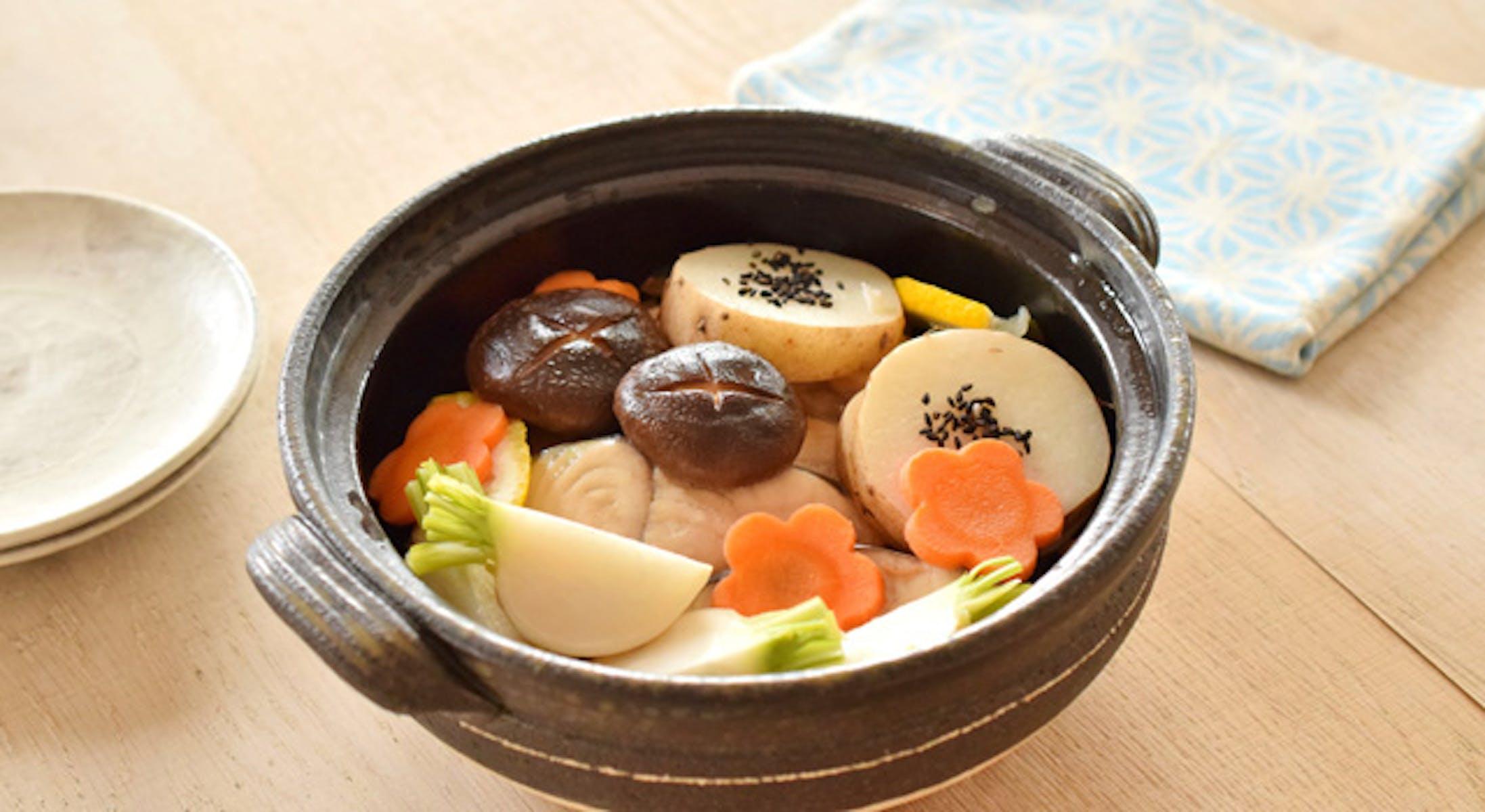 さわらと野菜の塩釜焼き風