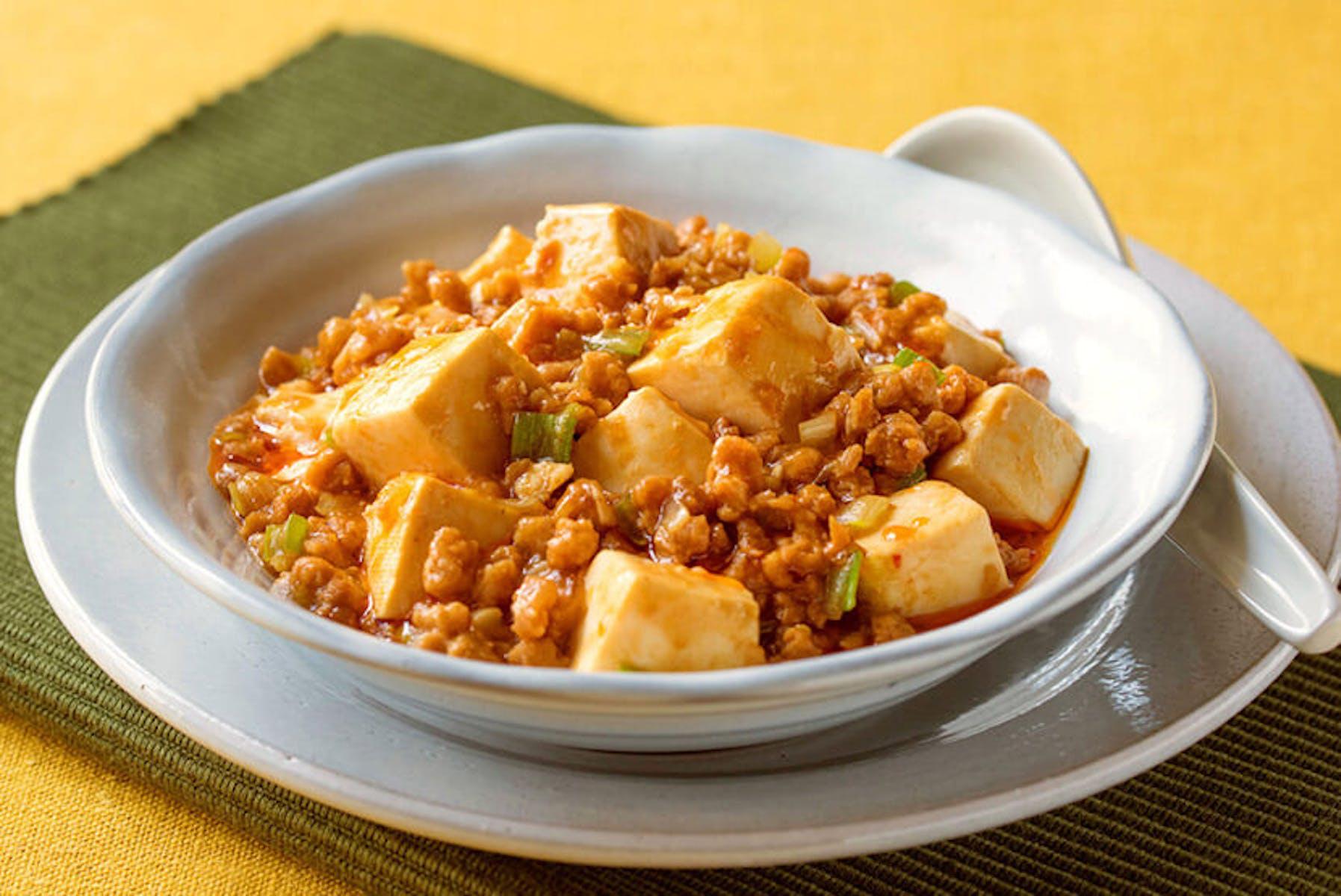 大豆のお肉のヘルシー麻婆豆腐