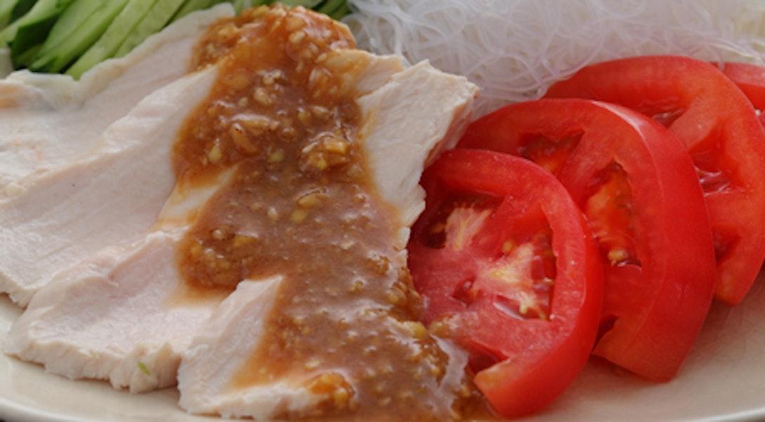 棒々鶏サラダ