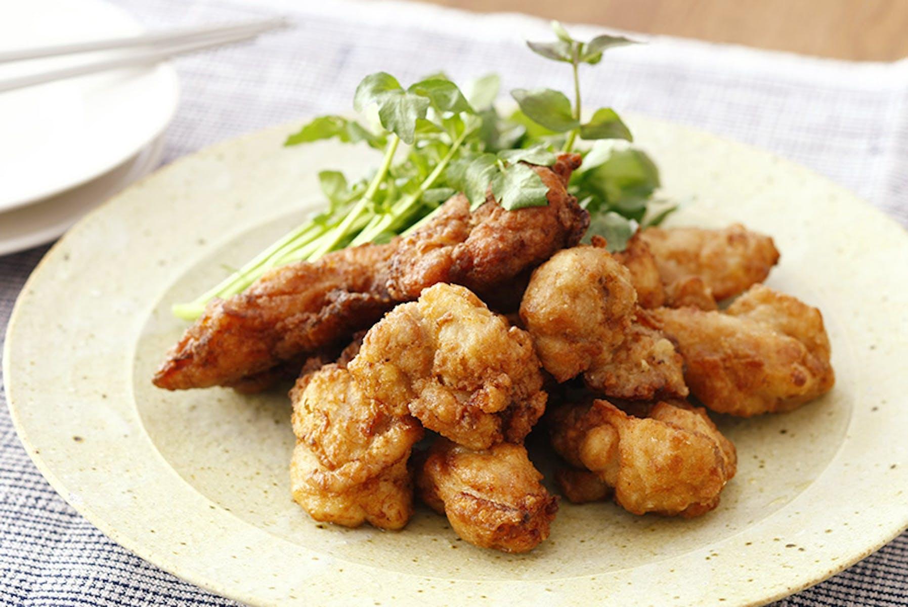 塩糀揚げ鶏