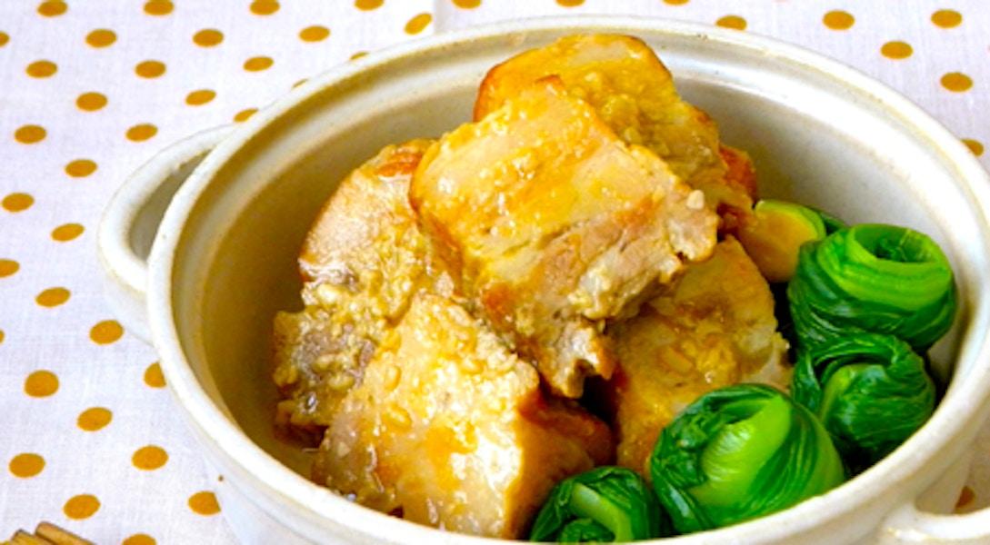 豚のしょうゆ糀角煮