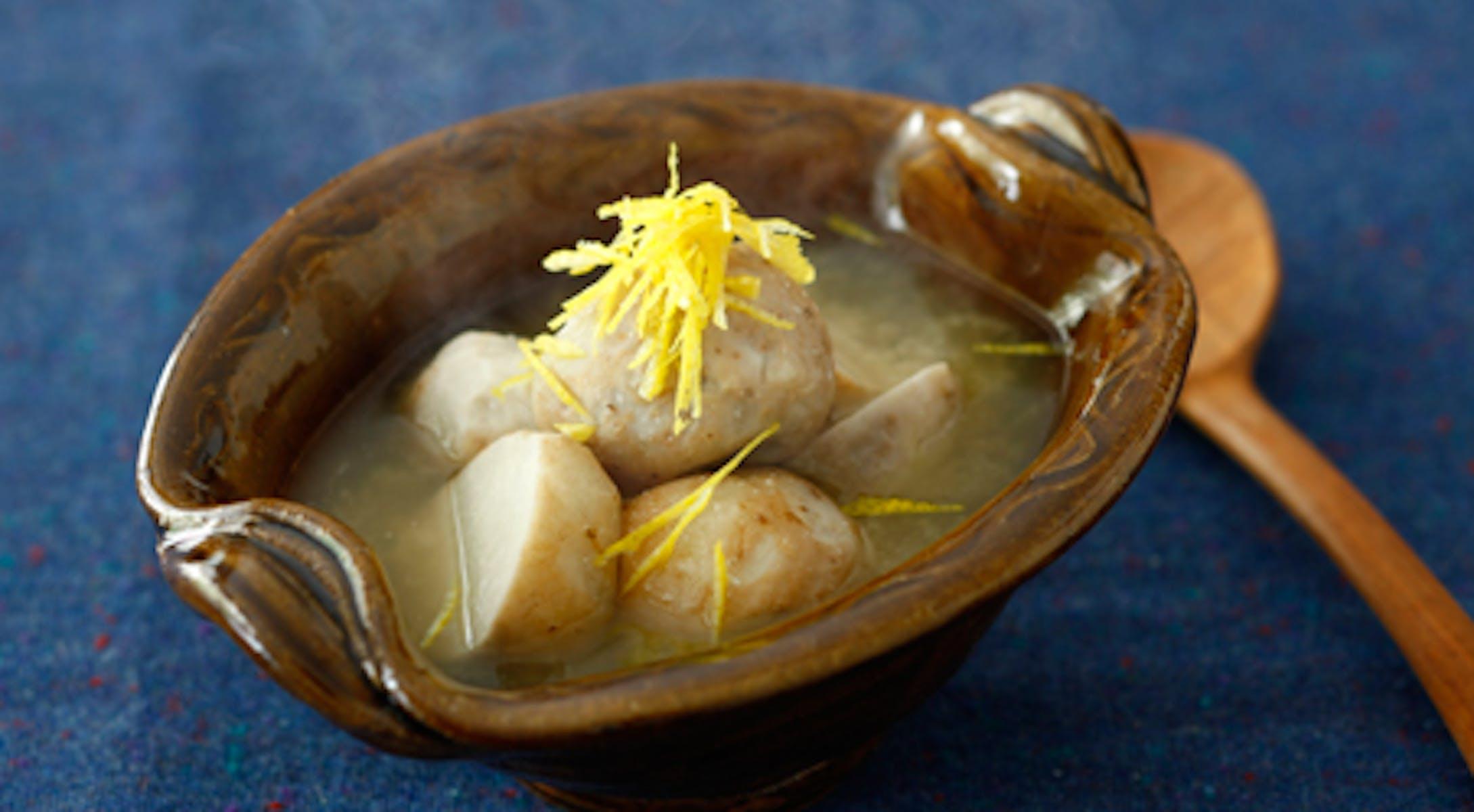 里芋の糀だし煮 ゆずの香り