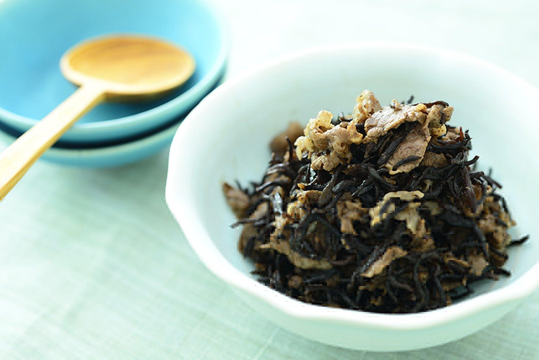 牛肉とひじきの炒め煮(常備菜)
