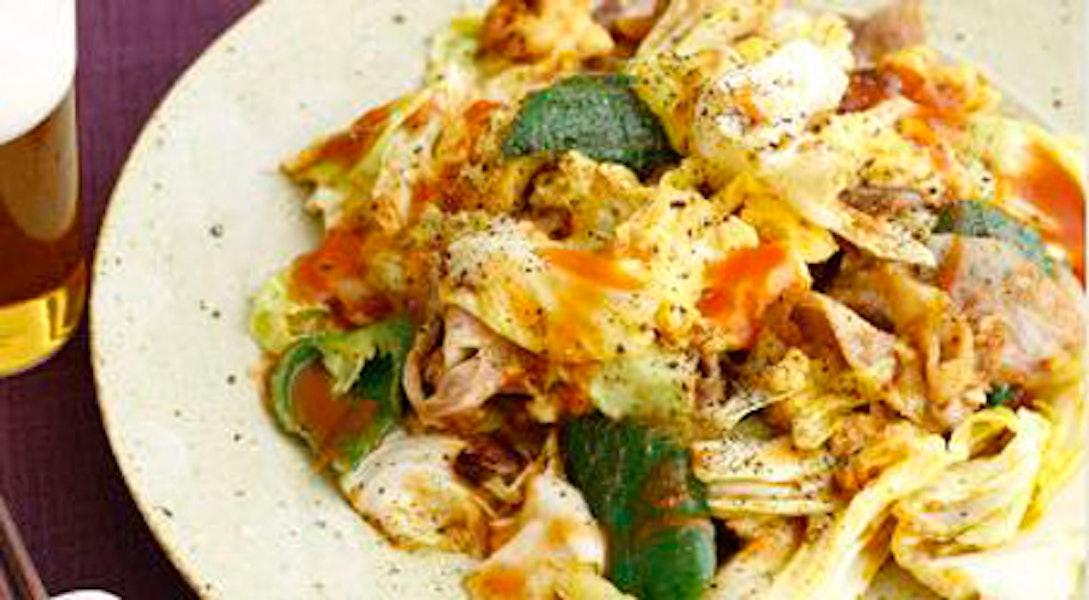 卵入りチリ回鍋肉