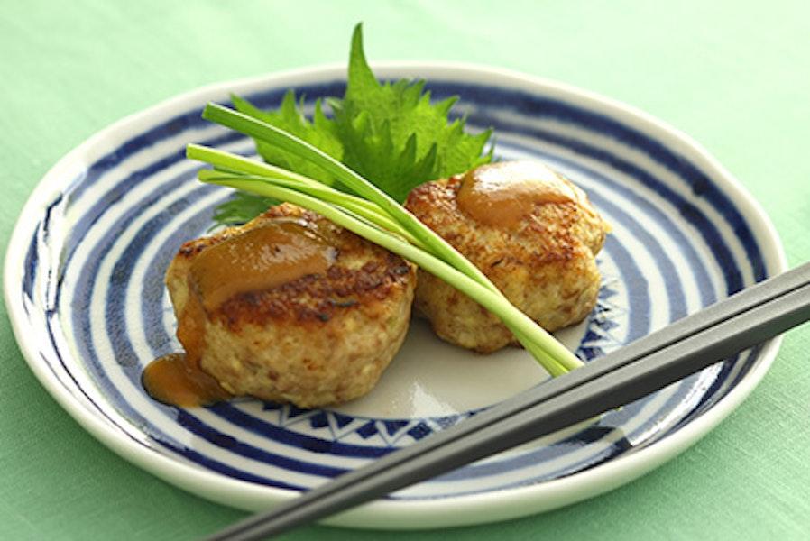 豆腐入りチキンハンバーグ
