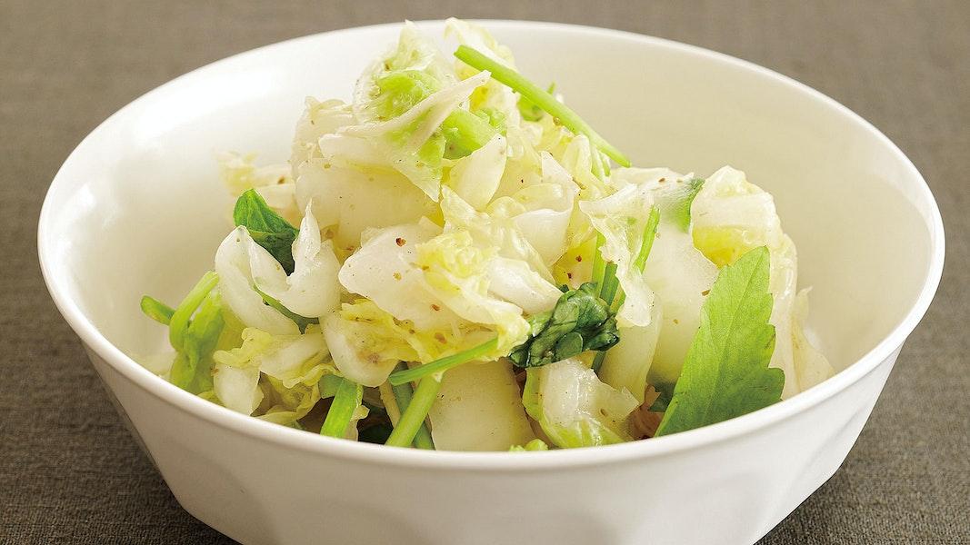白菜の白キムチ