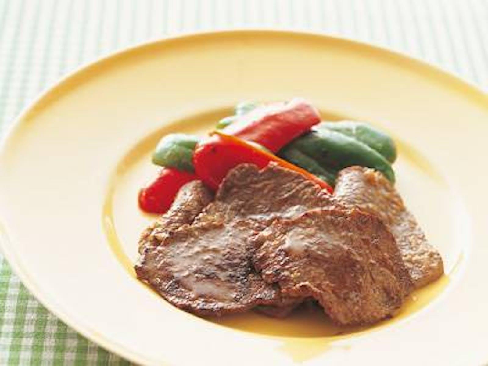 牛肉のシンプルソテー